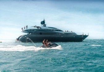 Babylon yacht charter Rodriquez Yachts Motor Yacht