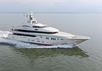 Lady Kathryn V charter yacht exterior designed by Espen Oeino