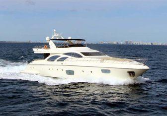 Intervention yacht charter Azimut Motor Yacht