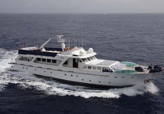 Lady Roxanne yacht charter Benetti Motor Yacht