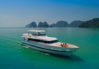 Ajao yacht charter Baglietto Motor Yacht
