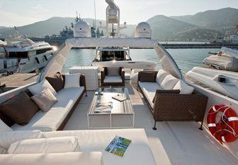 Fortuna yacht charter Sanlorenzo Motor Yacht