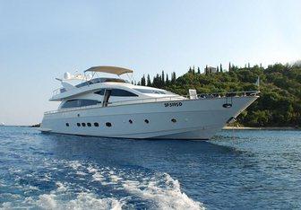 Amer-Ica yacht charter Amer Motor Yacht