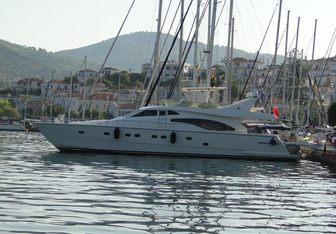 Kialoa yacht charter Ferretti Yachts Motor Yacht