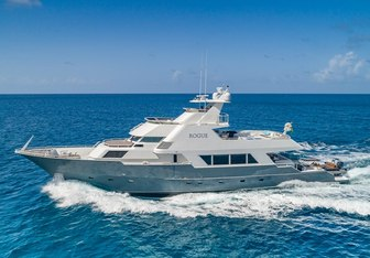 Rogue yacht charter Poole Boat Co. Motor Yacht