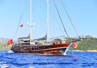 K Mehmet Bugra Yacht Charter in Crete