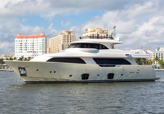 Slainte III yacht charter Custom Line Motor Yacht