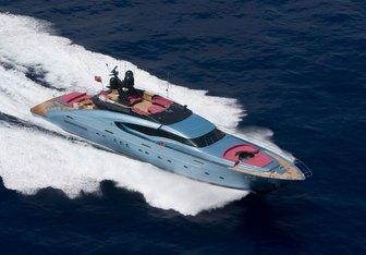 Waverunner yacht charter Palmer Johnson Motor Yacht