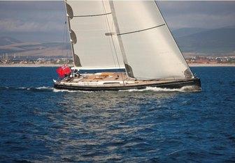 Thalima charter yacht interior designed by Nauta Yachts