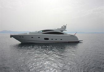 Elizabeth D yacht charter Sunseeker Motor Yacht