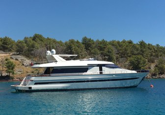 Megalia yacht charter Sanlorenzo Motor Yacht