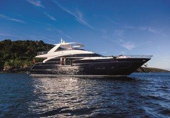 4 Life yacht charter Princess Motor Yacht