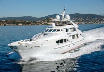 Luisa charter yacht exterior designed by Mulder Design