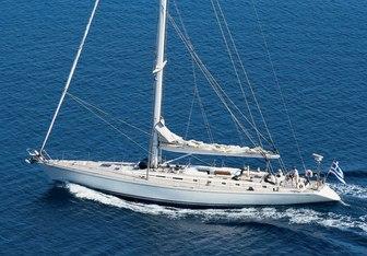 Callisto yacht charter Nautor's Swan Sail Yacht