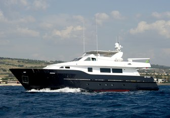 Wolf Two yacht charter CBI Navi Motor Yacht