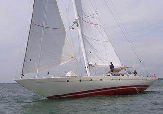 Vintage yacht charter Custom Sail Yacht
