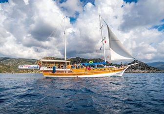 Alaturka 2 yacht charter Custom Motor/Sailer Yacht