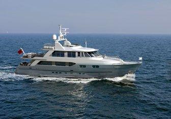 Christina G yacht charter Kingship Motor Yacht