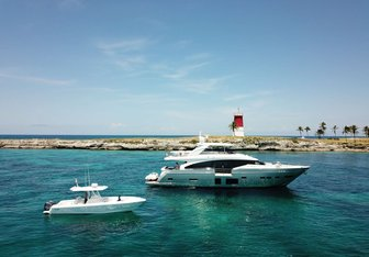 Hot Pursuit yacht charter Princess Motor Yacht