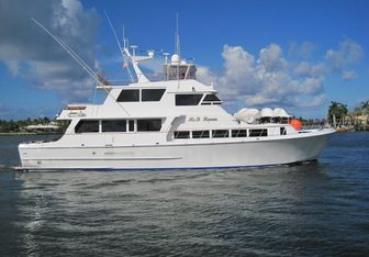Ms B Haven yacht charter Knight & Carver Motor Yacht