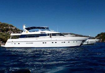 Teaser yacht charter Sanlorenzo Motor Yacht