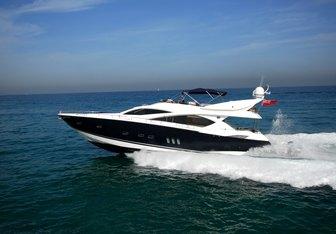 Lady Zehava yacht charter Sunseeker Motor Yacht