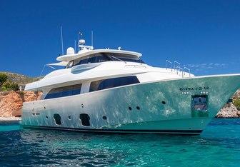 Malvasia II yacht charter Custom Line Motor Yacht