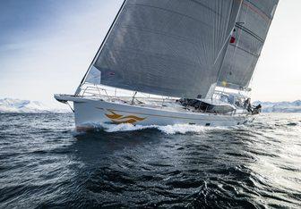 Firebird yacht charter Oyster Yachts Sail Yacht