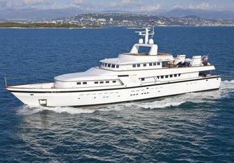 Curiosity Yacht Charter in Monaco