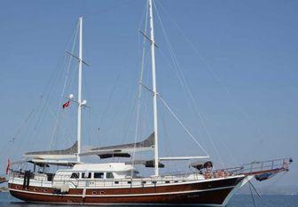 Prenses Esila yacht charter Custom Sail Yacht