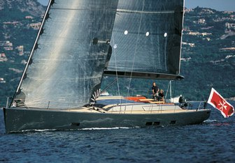 Aori charter yacht exterior designed by Wally & Farr Yacht Design