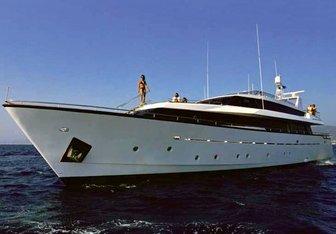Nomi yacht charter Picchiotti Motor Yacht