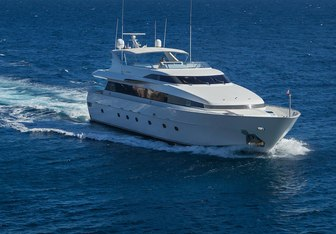 Marvi De charter yacht exterior designed by Admiral Yachts