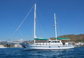 Izma yacht charter Baldeniz Shipyard Motor Yacht