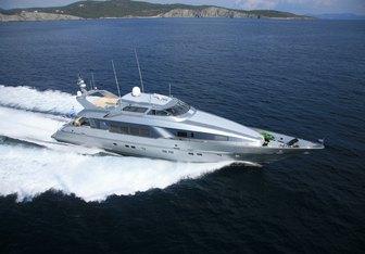 Pandion charter yacht exterior designed by Mulder Design