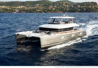 Drago yacht charter Lagoon Motor Yacht