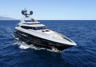 The Shadow charter yacht exterior designed by Cor D. Rover Design