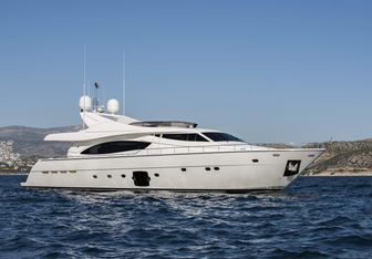 Day Off yacht charter Ferretti Yachts Motor Yacht
