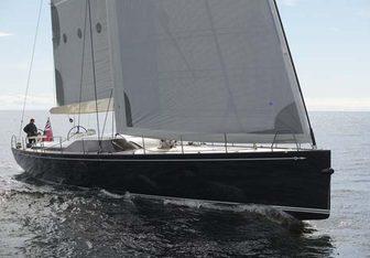 Black Pearl yacht charter Baltic Yachts Sail Yacht