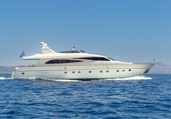 Vyno yacht charter Canados Motor Yacht