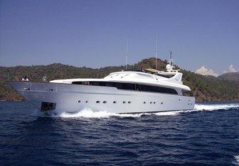 Crocus yacht charter SES Yachts Motor Yacht