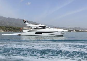 Maia Fair yacht charter Sunseeker Motor Yacht