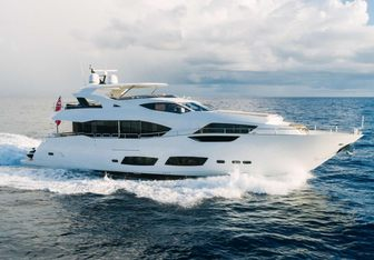 Perseverance 3 yacht charter Sunseeker Motor Yacht