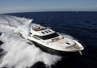 Baggio yacht charter Princess Motor Yacht