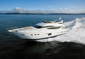 Uriamir yacht charter Princess Motor Yacht