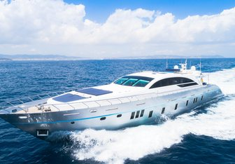 Blue Jay yacht charter Tecnomar Motor Yacht