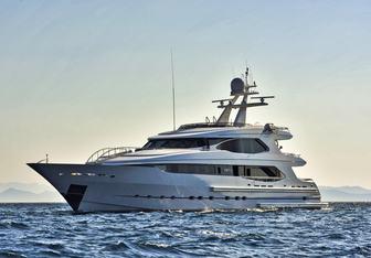 Idefix yacht charter Oceanco Motor Yacht