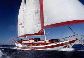 Clarissa yacht charter Unknown Sail Yacht