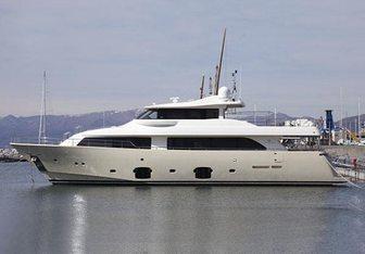 Ulyssia yacht charter Custom Line Motor Yacht