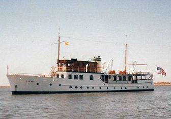 Fifer yacht charter Burrard Dry Dock Motor Yacht